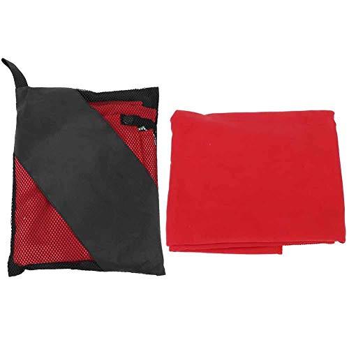 Leylor Toalla Toalla de Playa-Fibra Ultrafina Viajes al Aire Libre Camping Microfibra Secado rápido Ducha Deportiva Toalla de Playa(Rojo)