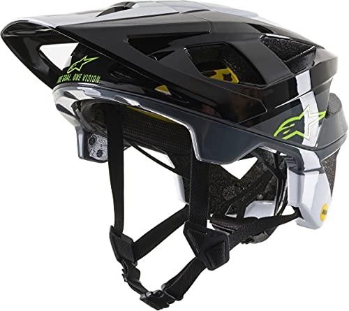 Alpinestars Casco MTB 2019 Vector Tech MIPS Pilot Negro Amarillo Fluorescent Roj...