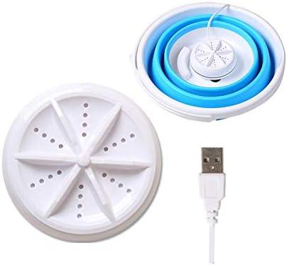 Portable Washing Machine Folding Washing Machine Mini Washing Machine Laundry USB Powered For product image