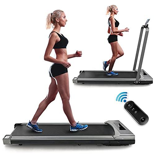 Yoozoo Under Desk Treadmill 2 in 1 Walking Running Machine...