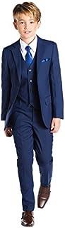 Paisley of London, Kingsman Blue, Boys Slim Fit Occasion Wear, Kids Formal Wedding Suit Set, X-Large - 20
