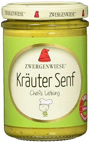 Zwergenwiese Bio Kräuter Senf, 160 ml