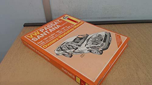 Volkswagen Passat and Santana 1981-88 Owner's Workshop Manual (Service & repair manuals)