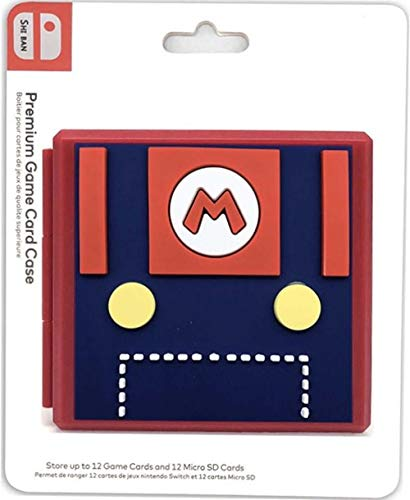 Adventure Games - Mario, Chest of Fun - Premium Game Card Case - Nintendo Switch