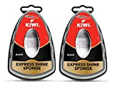 Kiwi Express Shine Sponge - Black (Pack of 2)