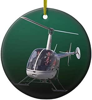 Lplpol Helicopter Ornament Personalize Chopper Decoration