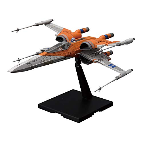 BANDAI Star Wars PoE's X-Wing Fighter The Rise of Skywalker 1/72 Model Kit