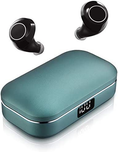 Wireless Earbuds ICOMTOFIT Bluetooth 5 0 Wireless Headphones with Aluminum Alloy Battery Display product image