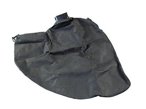 gartenteile Laubsauger Fangsack passend für Einhell Royal REL 2500 E Elektro Laubsauger Laubbläser. Auffangsack für Laubsauger mit eckigem Anschluss und Reißverschluss zum entleeren.