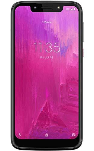 T-Mobile REVVLRY 32GB Black Phone Moto G7 Play XT1952-T (Renewed)