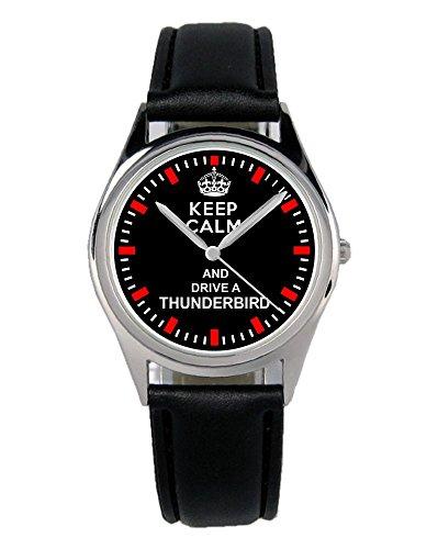 Geschenk für Thunderbird Fans Fahrer Kiesenberg Uhr B-1477