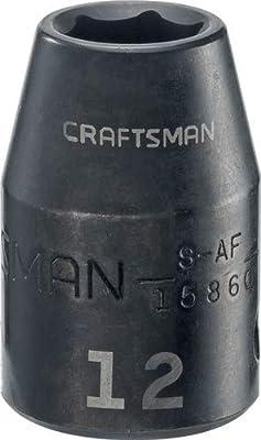 "CRAFTSMAN CMMT15860 1/2"" Drive Shallow Metric - 12mm"