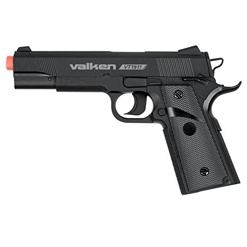Valken Tactical Airsoft 1911 CO2 Semi Pistol, 6mm