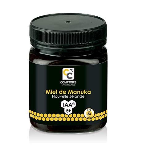 COMPTOIRS ET COMPAGNIES | MIEL DE MANUKA ACTIF | IAA5+ (MGO83+) | 250 Grammes