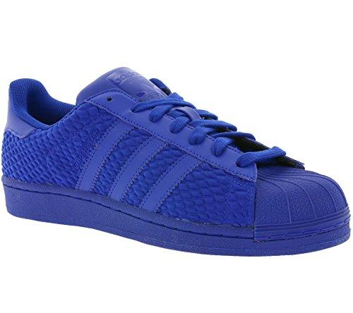 adidas Originali Superstar Foundation, Uomo Scarpe Sportive - Blu Blu aq3050, UK7.5 EUR41 1/3 US8