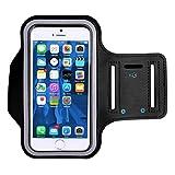 ランニング アームバンド スポーツ スマホ 指紋 顔認証 OK 防水 軽量(iPhone 11/X/XR/Xs Max iPhone 6/7/8plus、Galaxys6/s7/s8/s8plus、Xperia 、sonyなど 6インチまでのスマホに対応可能)