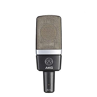 AKG C214 Professional Large-Diaphragm Condenser Microphone