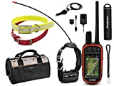 Garmin Alpha 100 TT15 Combo (3 Collar) HuntBetter Bundle w/ TT15 Dog GPS Collars, Extra Collars, PlayBetter Portable Charger & Tether | Track & Train Dog GPS (Black, Red, Yellow)