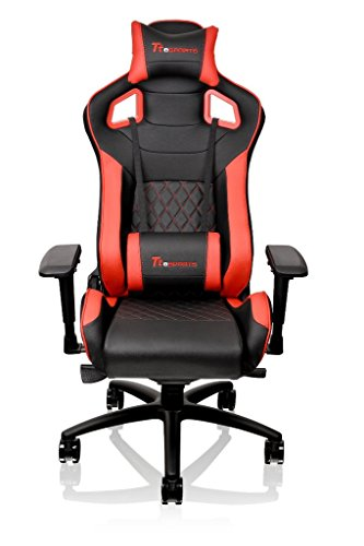 Tt eSPORTS GT-Fit 100 Gaming Chair - GC-GTF-BRMFDL-01, red