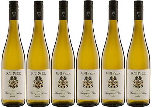 6er Paket Knipser Sauvignon Blanc 2020 Pfalz, deutscher Weißwein (6 x 0,75 l)