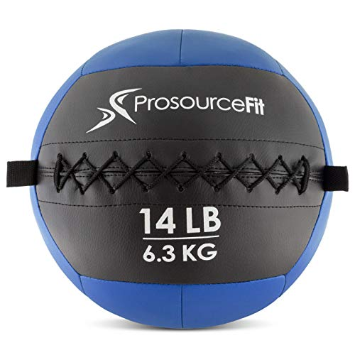 ProsourceFit Soft Medicine Ball  Blue/14 lb