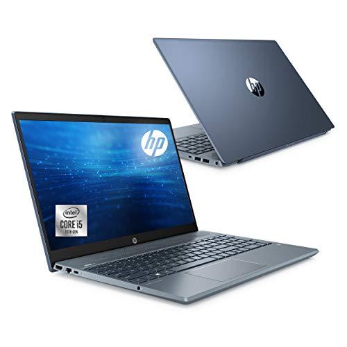 HP ノートパソコン インテル Core i5 8GBメモリ 256GB SSD 1TB ハードドライブ 15.6インチ フルHDブライトビュー IPSディスプレイ HP Pavilion 15-cs3000 Windows10 Microsoft Office付き フォグブルー(型番:8SM85PA-AAAA)