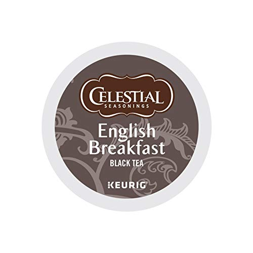 Celestial Seasonings English Breakfast Black Tea, Single-Serve Keurig...