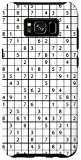Galaxy S8+ Black White Puzzle Sudoku Lover Theme Sudoku Case