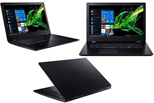 Notebook Aspire A317 - Intel Core i7-10510U - 32GB-RAM - 2000GB NVMe SSD + 2000GB HDD - Windows 10 Pro - 44cm (17.3') Full HD Matt