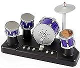 PowerTRC Electronic Mini Finger Drum | Full Drum Sounds | Desktop Accessories | Party Favors