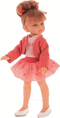 Antonio Juan Puppe Emily Chaqueta ROJA 33 cm