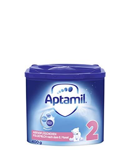 Aptamil Abendfläschchen, Folgemilch nach dem 6. Monat, Baby-Milchpulver (1 x 400 g)