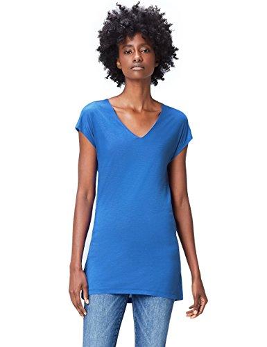 find. ZC-490 camisetas, Azul (Dazzling Blue), 36 (Talla del Fabricante: X-Small)