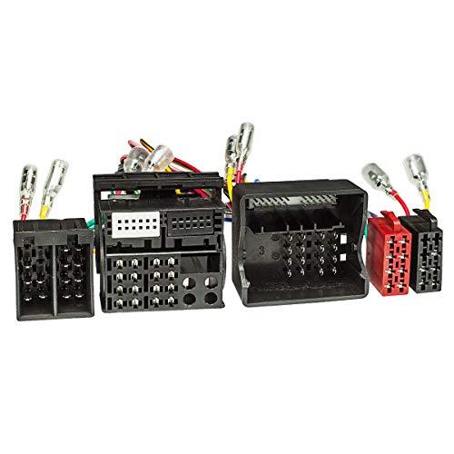 tomzz Audio 7315-005 T-Kabel ISO (40 Kabel) passend für Ford ab 2004 mit Quadlock zur Einspeisung von Freisprecheinrichtung ISO Verstärker für THB Parrot Dabendorf i-sotec Match