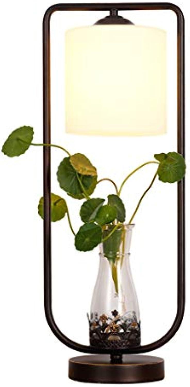 QTDH LED Tischlampe - Pflanzen-dekorative Hydroponische Tischlampe - Modernes Design - Schlafzimmerbeleuchtung Tischlampe - Vielseitig Einsetzbar Für Zuhause