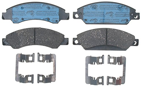 ACDelco Gold 17D1092CH Ceramic Front Disc Brake Pad Set