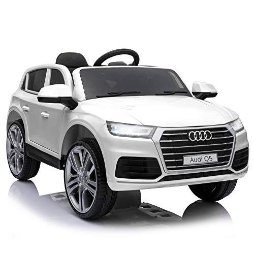HOMCOM Coche Eléctrico para Niño +3 Años Audi Q5 con Mando a...