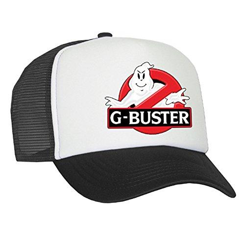 Raphia type G Casquette en maille de Buster – Black