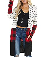 Chase Secret Womens Snap Button Down Pocketed Open Front Long Knited Cardigan Outerwear White X-Large