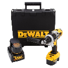 DEWALT 18-Volt XRP NiCd Cordless Drill/Driver with (2) Batteries 2.4Ah, 1-Hour Charger and Case-DCD940KX - The Home Depot