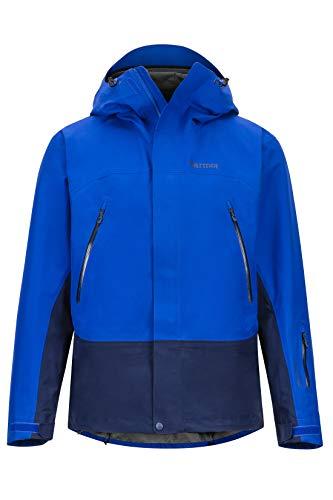 Marmot Herren Hardshell Ski- Und Snowboard Jacke, Winddicht, Wasserdicht, Atmungsaktiv Spire, Surf/Arctic Navy, L, 31550