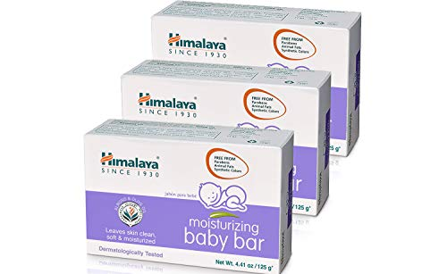 Himalaya Moisturising Baby Soap with Olive oil and Vitamin E, 70 g (3 Pack)