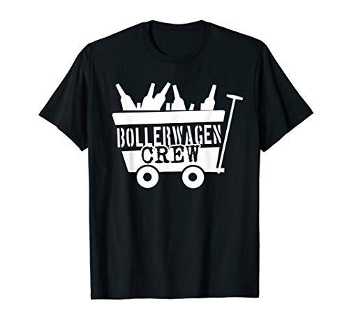 Bier Trinken Männertag Bollerwagen T-Shirt