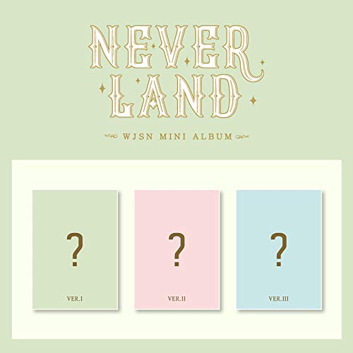 Starship Entertainment WJSN Cosmic Girls - Neverland (8th Mini Album) Album+Pre-Order Benefit+Folded Poster+Extra Photocards Set (I+II+III ver. Set)
