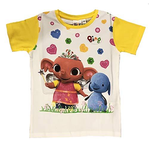 -Bing T-Shirt Coniglietto Mis. 1 2 3 4 5 Anni Estate 2019 (2 Anni, Giallo)