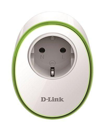 D-Link DSP-W115 - Enchufe Inteligente WiFi, Control Desde móvil o Tableta Mediante App Gratuita mydlink, programación horaria ON/Off, Compatible Amazon Alexa y Google Home, IFTTT, Blanco