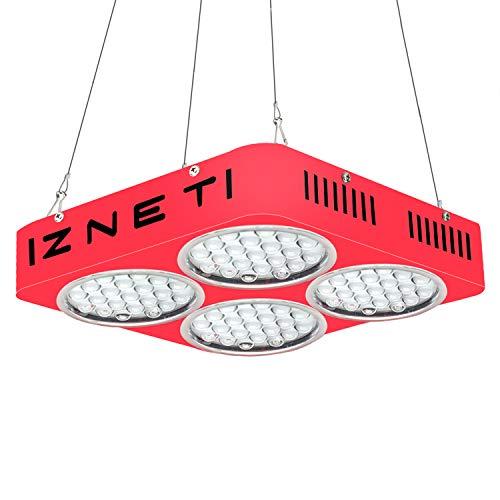 WYZM LED Pflanzenlampe,ZNET4 LED Grow Lampe,1000W HPS Äquivalent,Professionelle Vollspektrum mit 2 Schalter für Pflanzen Gemüse und Blumen, Spezielles Design für