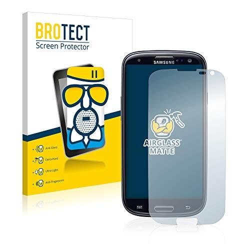 BROTECT Entspiegelungs-Panzerglasfolie kompatibel mit Samsung Galaxy S3 Neo - Anti-Reflex Panzerglas Schutz-Folie Matt