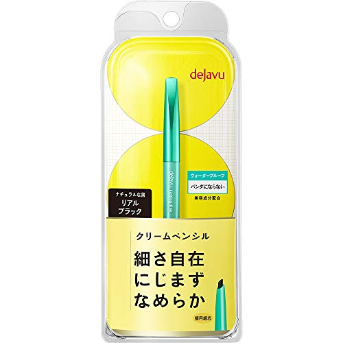 Dejavu Lusting Fine a Cream Pencil Eyeliner - Real Black (Green Tea Set)
