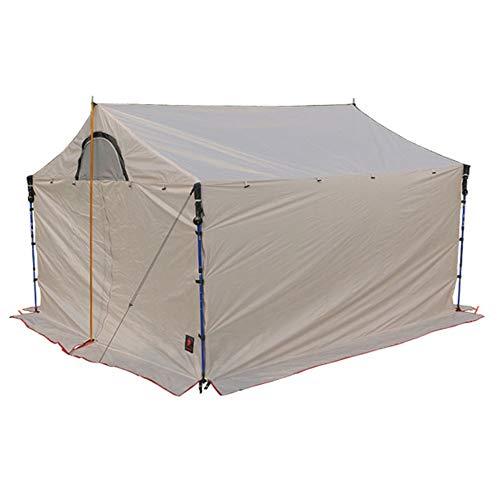 HKJZ Camping Hängematte Familien-Campingzelt-Ferienhaus-tragbare Tragetasche Hängematte mit Gestell (Color : White, Size : One Size)
